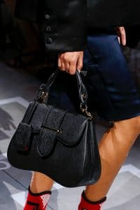 Prada Black Sidonie Top Handle Bag - Spring 2019