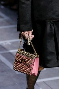 Prada Pink Studded Flap Bag - Spring 2019
