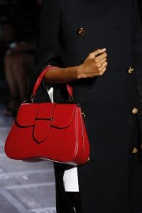 Prada Red Sidonie Top Handle Bag - Spring 2019