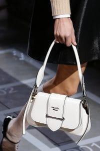 Prada White Sidonie Flap Bag - Spring 2019