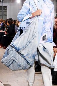 Proenza Schouler Denim Oversized Tote Bag 2 - Spring 2019