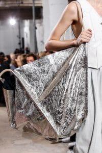 Proenza Schouler Silver Oversized Tote Bag 1 - Spring 2019
