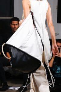 Proenza Schouler White/Black Oversized Tote Bag 1 - Spring 2019