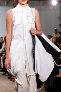 Proenza Schouler White/Black Oversized Tote Bag 2 - Spring 2019