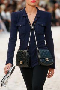 Chanel Black Double Flap Bag 2 - Spring 2019