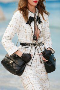 Chanel Black Double Flap Bag - Spring 2019