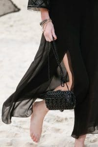 Chanel Black Evening Bag - Spring 2019