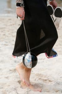 Chanel Black/Transparent Beach Ball Minaudiere Bag - Spring 2019