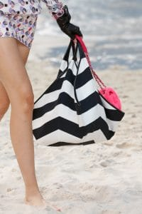 Chanel Black/White Tote and Pink Flap Bags - Spring 2019