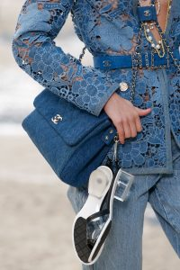Chanel Blue Denim Flap Bag - Spring 2019
