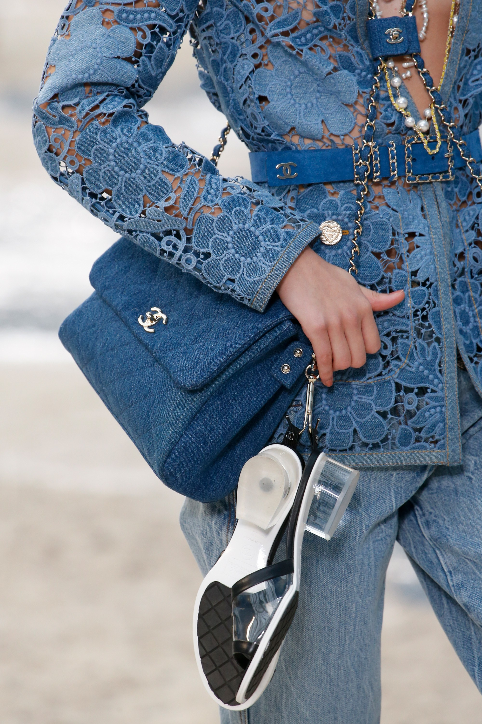 c39703ce58a0 Chanel Spring Summer 2019 Runway Bag Collection - Chanel By The Sea ...
