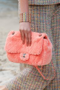 Chanel Pink Fabric Flap Bag - Spring 2019