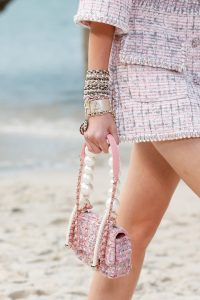 Chanel Pink Tweed Mini Flap Bag 2 - Spring 2019
