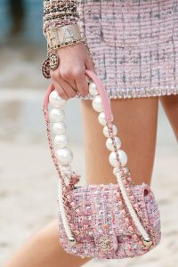 Chanel Pink Tweed Mini Flap Bag - Spring 2019