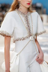 Chanel White Double Flap Bag - Spring 2019