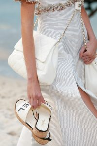Chanel White Flap Bag - Spring 2019