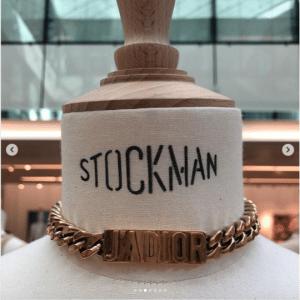 Dior Gold Chain Choker - Spring 2019