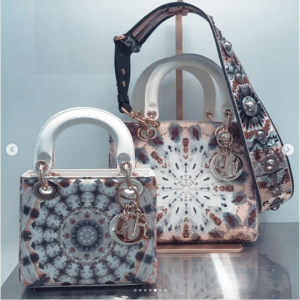 Dior Multicolor Embroidered Lady Dior Bags - Spring 2019