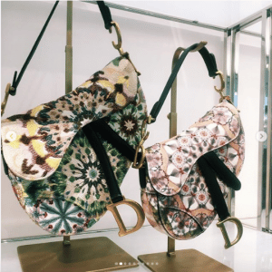 Dior Multicolor Embroidered Saddle Bags 2 - Spring 2019