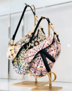 Dior Multicolor Embroidered Saddle Bags - Spring 2019