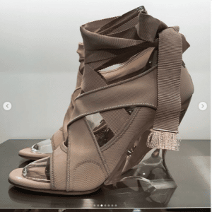 Dior Taupe Wedges - Spring 2019