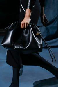 Givenchy Black Drawstring Bag - Spring 2019