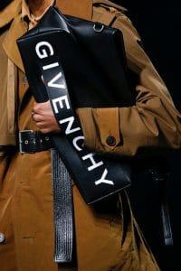 Givenchy Black Large Clutch Bag - Spring 2019