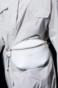 Givenchy White Belt Bag - Spring 2019