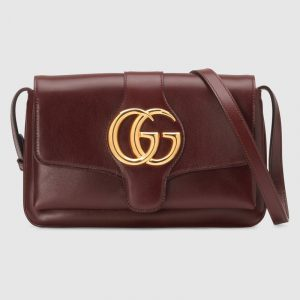 Gucci Burgundy Arli Small Shoulder Bag