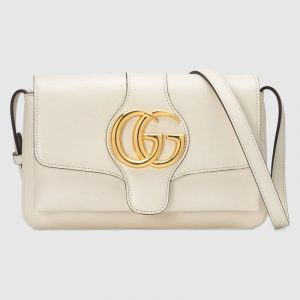 Gucci White Arli Small Shoulder Bag