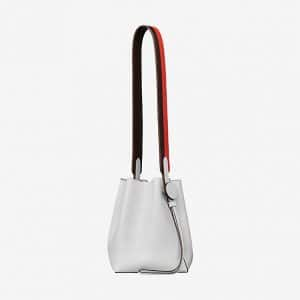 Hermes Blanc/Havane/Capucine Licol 17 Bag
