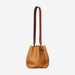 Hermes Toffee/Havane/Capucine Licol 17 Bag