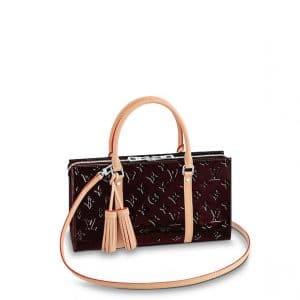 Louis Vuitton Amarante Monogram Vernis Neo Triangle Bag