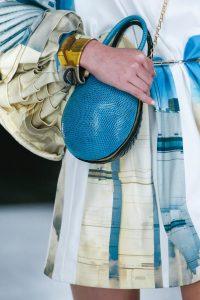 Louis Vuitton Blue/Black Python Oval Bag - Spring 2019
