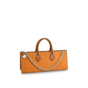 Louis Vuitton Bright Yellow Epi Sac Tricot Bag