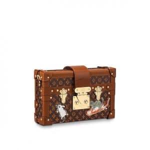 Louis Vuitton Catogram Petite Malle Bag