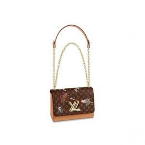 Louis Vuitton Catogram Twist MM Bag