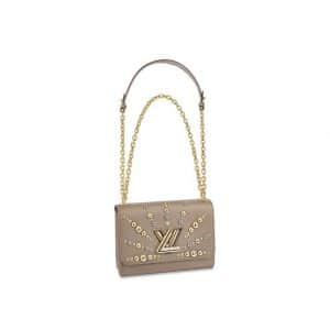 Louis Vuitton Galet Studded Twist MM Bag