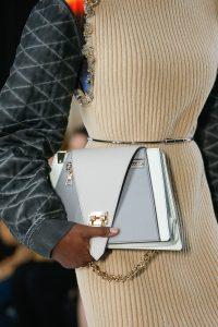 Louis Vuitton Gray/White Flap Bag - Spring 2019