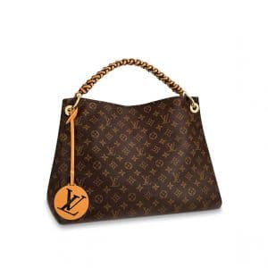 Louis Vuitton Monogram Canvas Braided Handle Artsy MM Bag