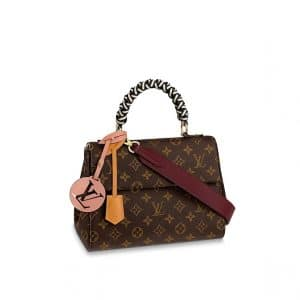Louis Vuitton Monogram Canvas Braided Handle Cluny BB Bag