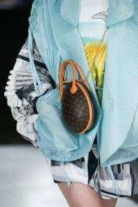 Louis Vuitton Monogram Canvas:Black Oval Bag - Spring 2019