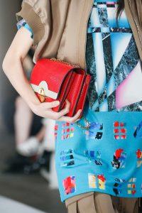 Louis Vuitton Red Flap Bag - Spring 2019