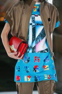 Louis Vuitton Red Python Flap Bag 2 - Spring 2019