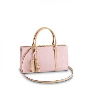 Louis Vuitton Rose Ballerine Monogram Vernis Neo Triangle Bag