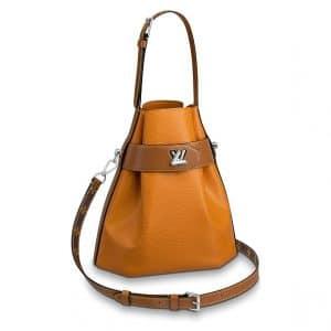 Louis Vuitton Safran Epi Twist Bucket Bag