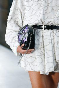 Louis Vuitton Silver/Purple Floral Shoulder Bag - Spring 2019