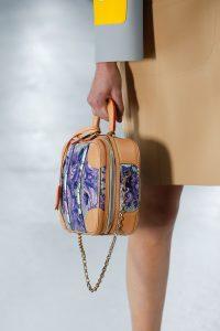 Louis Vuitton Silver/Purple Floral Vanity Case Bag - Spring 2019