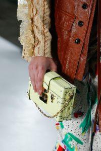 Louis Vuitton Yellow Crocodile Petite Malle Bag - Spring 2019