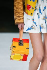 Louis Vuitton Yellow/Red Trunk Cube Bag - Spring 2019